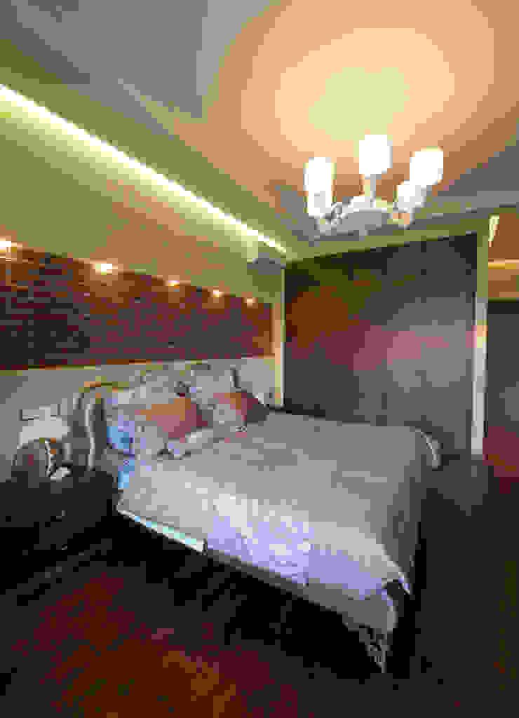 Квартира на Крупской Спальня в стиле лофт от Дизайн-студия «ARTof3L» Лофт