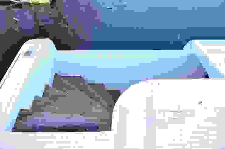 Domy na wodzie Nowoczesny korytarz, przedpokój i schody od floatinghouses Nowoczesny