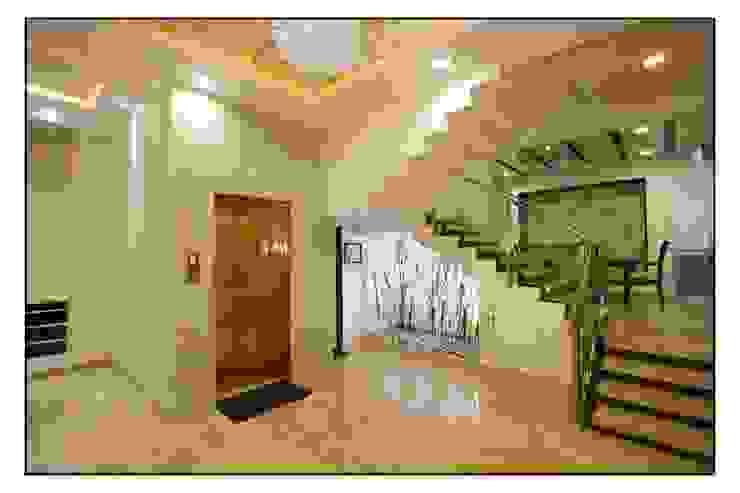 Entrance lobby de sayyam interiors. Moderno Mármol