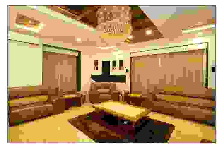 Sala de estar  por sayyam interiors.