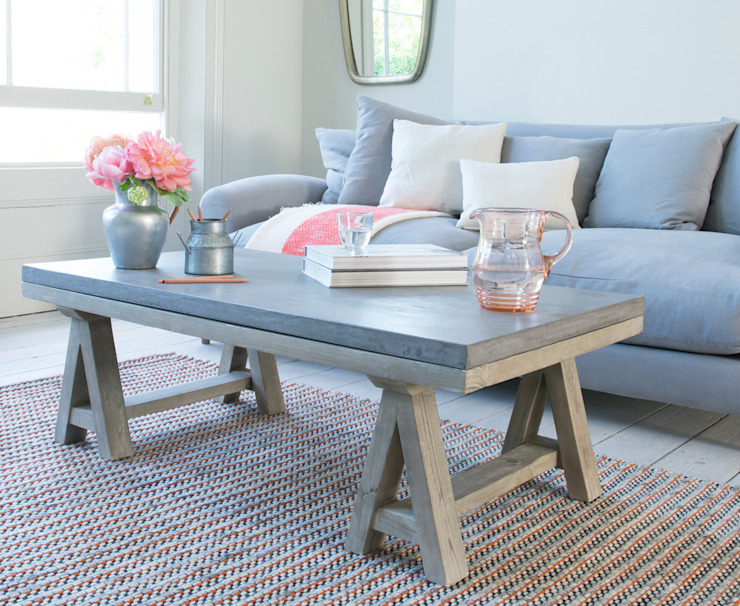 Ace coffee table de homify Moderno Madera Acabado en madera