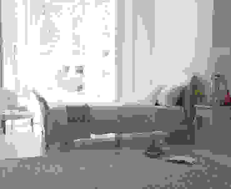 Antoinette bed in scuffed grey : modern  by Loaf, Modern Wood Wood effect