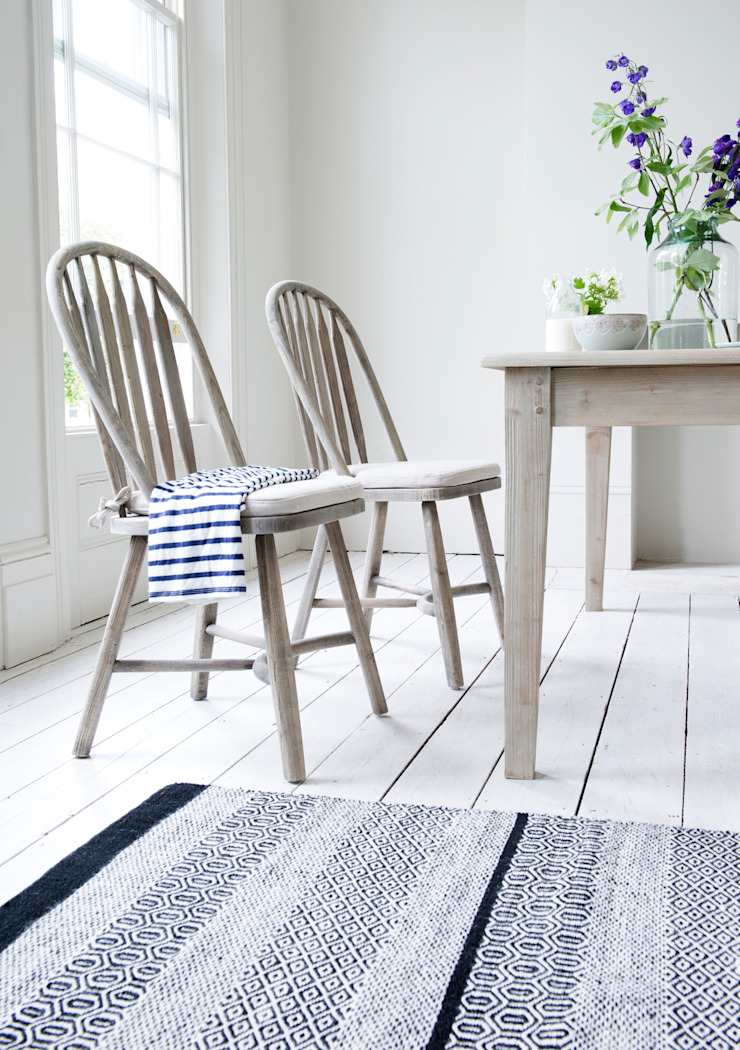 Bossy kitchen chairs and Homer table : country  by Loaf, Country Wood Wood effect