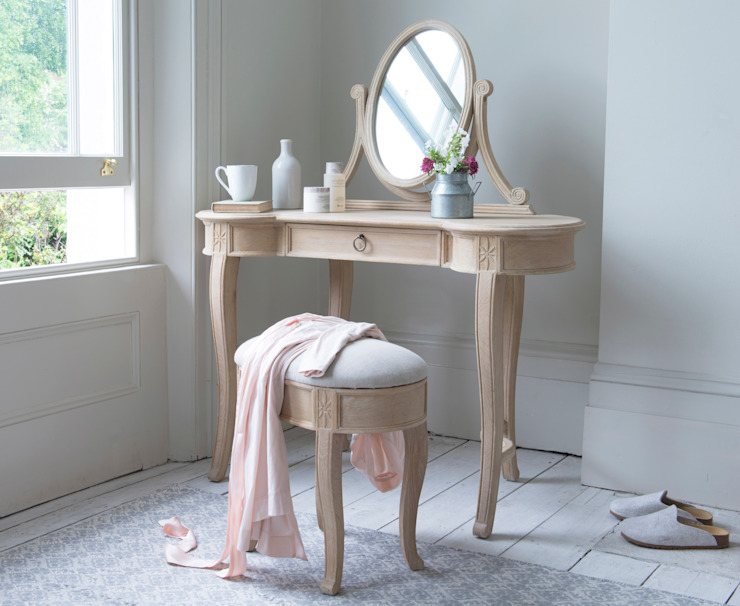Nellie dressing table : classic  by Loaf, Classic Wood Wood effect