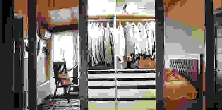 Gül & Emin Timur Modern Giyinme Odası Bilgece Tasarım Modern