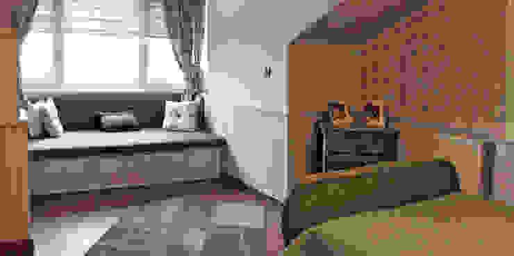 Didem & Serkan Ozbakan Modern Yatak Odası Bilgece Tasarım Modern
