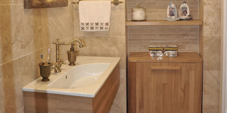 Bathroom by Bilgece Tasarım, Modern
