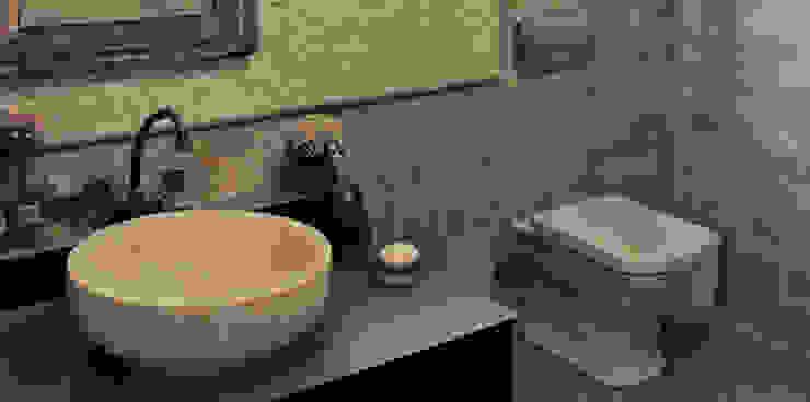Didem & Serkan Ozbakan Modern Banyo Bilgece Tasarım Modern