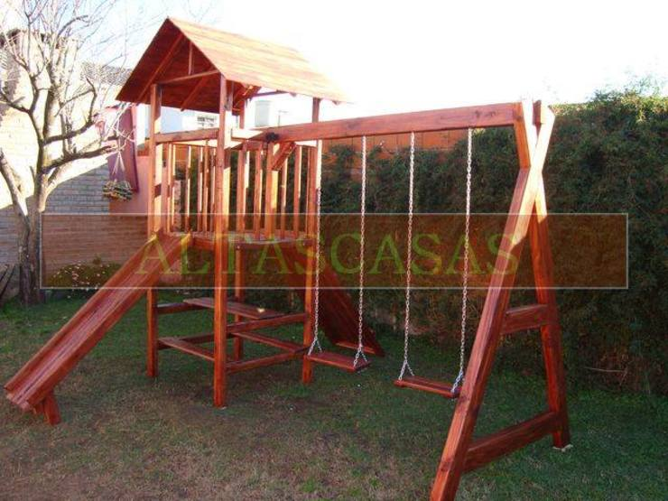 Casitas de madera y juegos de plaza de cordoba Rural