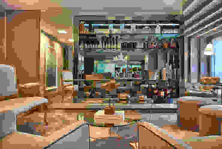 Гостиная в стиле модерн от Gláucia Britto Модерн