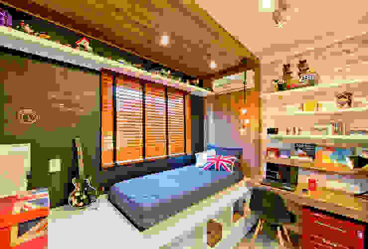 Industrial style nursery/kids room by Espaço do Traço arquitetura Industrial