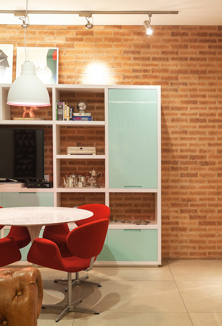 Cobertura .SC Salas de jantar ecléticas por Amis Arquitetura e Decoração Eclético