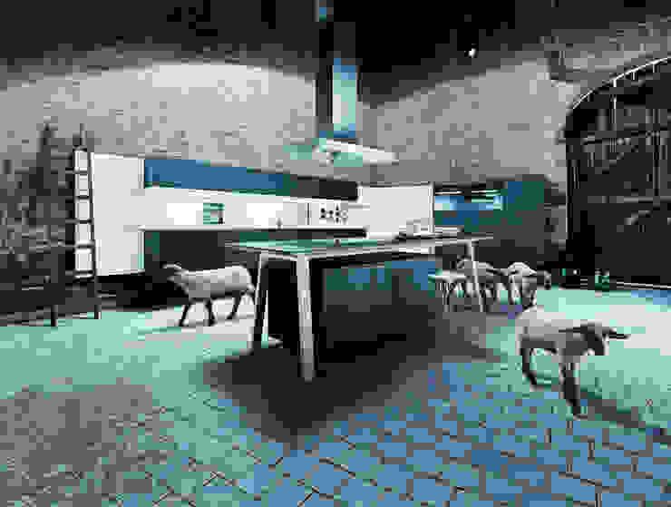 Cocinas de estilo moderno de Tinnemans Keukens Moderno