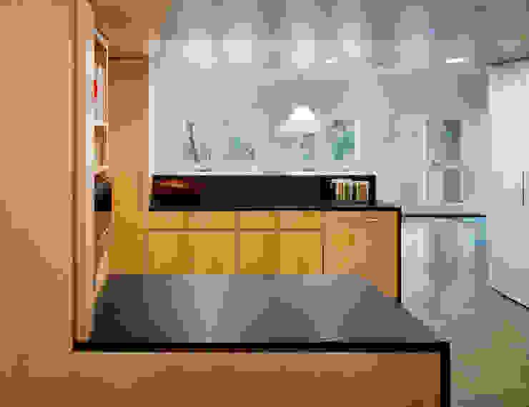 Modern Barn Specht Architects Modern kitchen