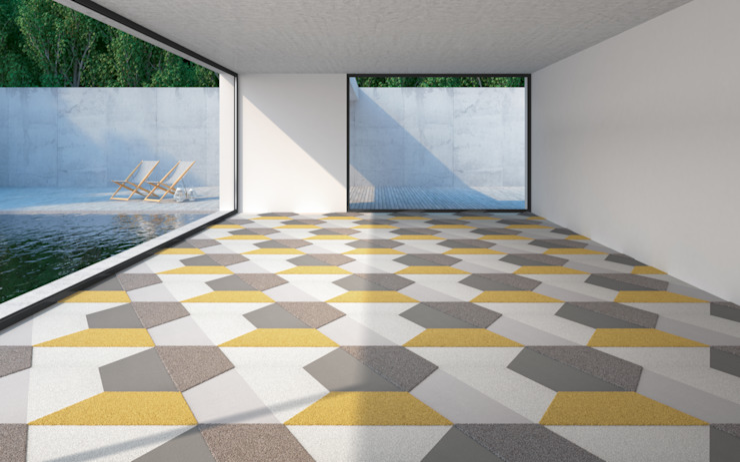 現代  by Vorwerk flooring, 現代風