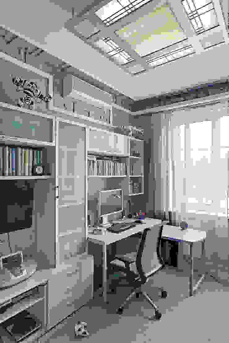 Cовременный интерьер с художественными деталями. Детская комнатa в стиле минимализм от D&T Architects Минимализм
