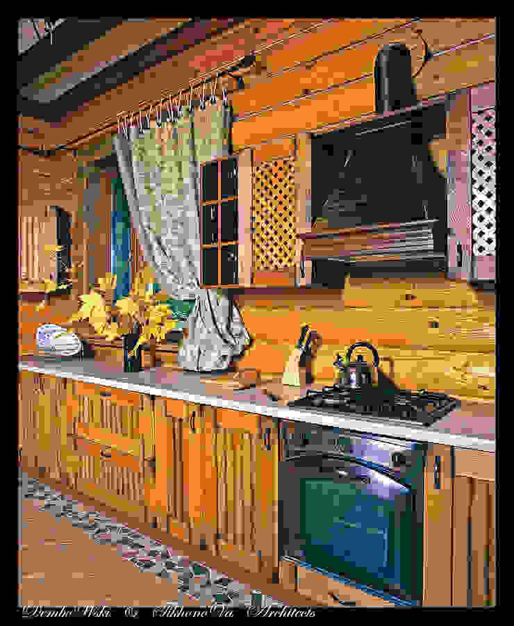 В гостях у сказки Кухня в стиле кантри от D&T Architects Кантри