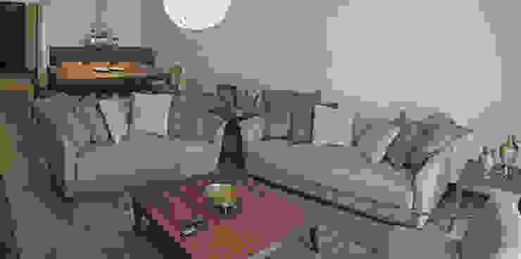 Nilgun & Turgut Alibabaoglu Modern Oturma Odası Bilgece Tasarım Modern