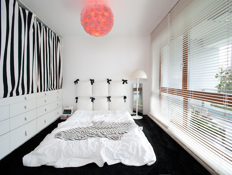 Scandinavian style bedroom by Sic! Zuzanna Dziurawiec Scandinavian