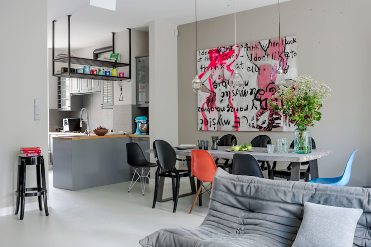t Modern dining room