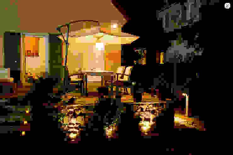 Terrassenbeleuchtung jack be nimble - lighting | design | innovation Moderner Balkon, Veranda & Terrasse