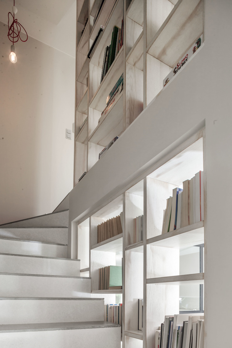 t Modern corridor, hallway & stairs