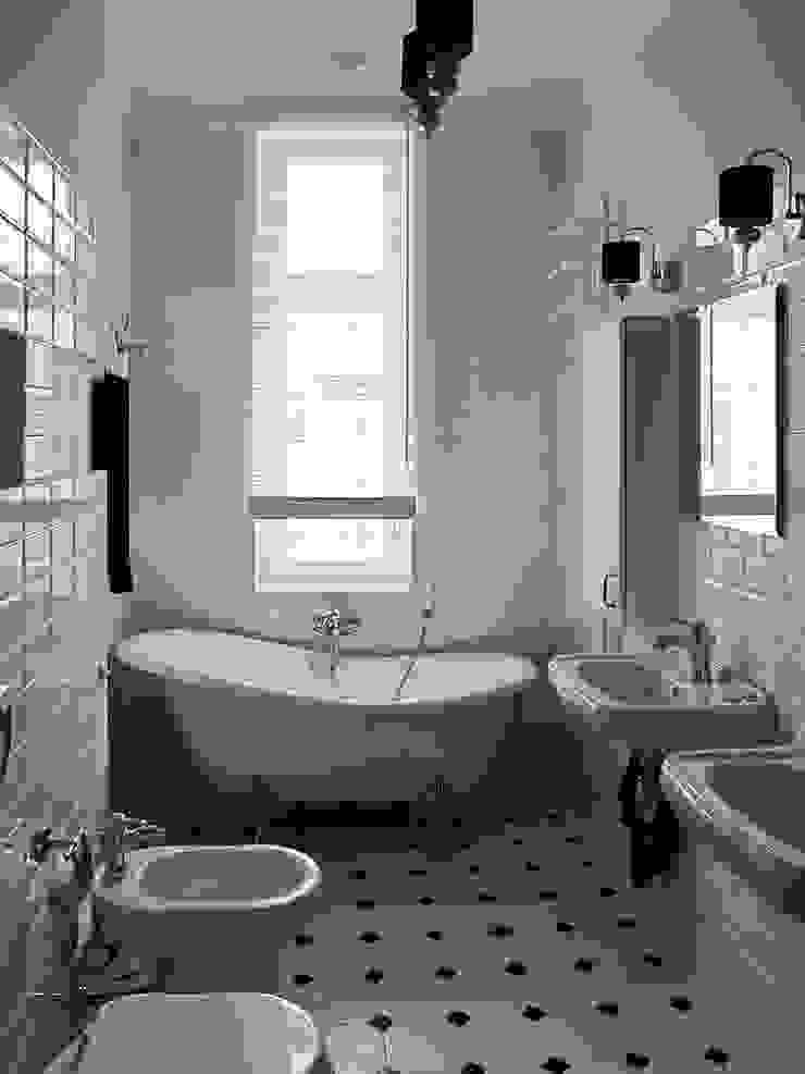 Apartament - Sopot Klasyczna łazienka od t Klasyczny