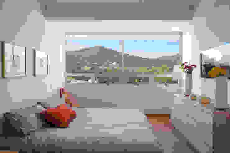 Residencial Vivalto Dormitorios modernos de Grupo Nodus Arquitectos Moderno
