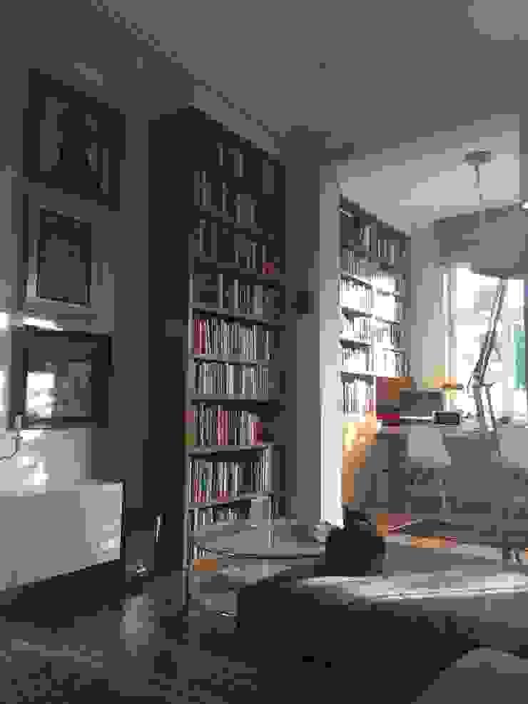 Apartament – Sopot Klasyczne domowe biuro i gabinet od t Klasyczny