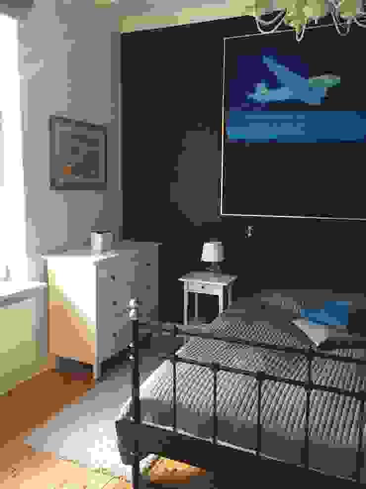 Apartament – Sopot Klasyczna sypialnia od t Klasyczny