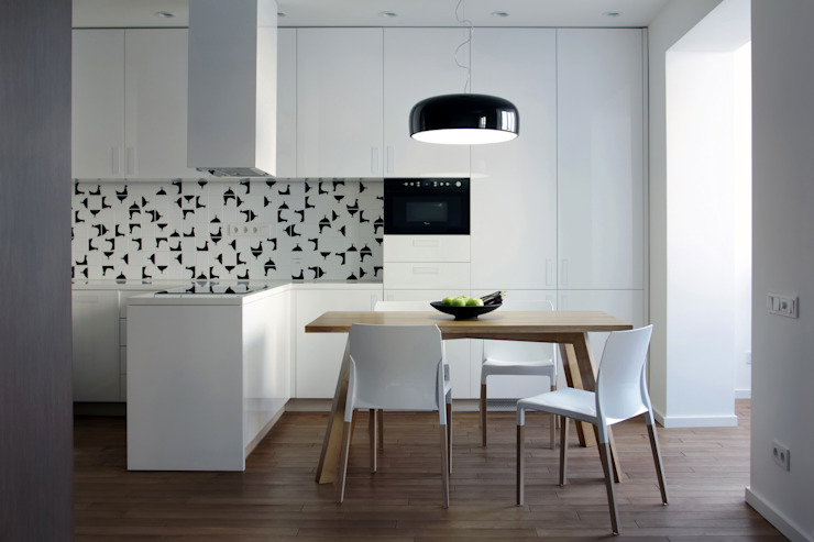 Kitchen by Lugerin Architects, Scandinavian