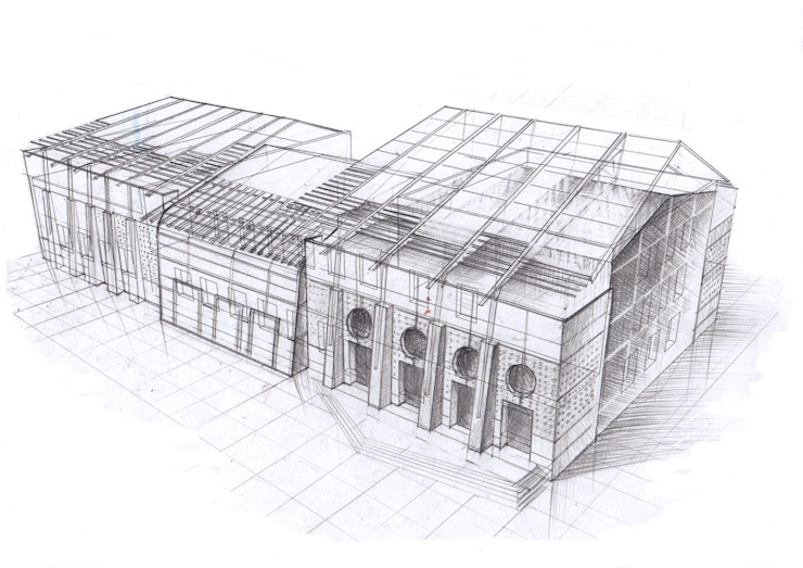 Реконструкция и перепрофилирование промышленного здания 2011-2014 от CHM architect Лофт