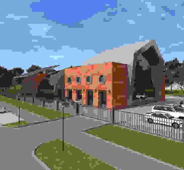 Реконструкция и перепрофилирование промышленного здания 2011-2014 Дома в стиле лофт от CHM architect Лофт