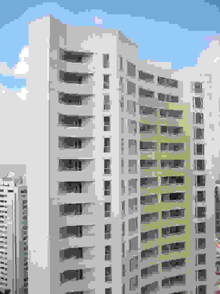 Residencial Aquario Casas modernas de Grupo Nodus Arquitectos Moderno