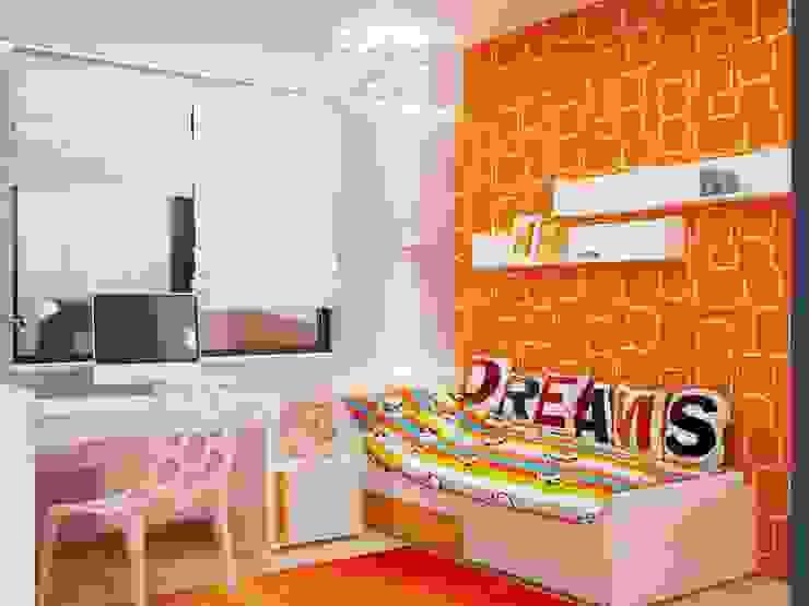Краски детства Детская комната в стиле модерн от Студия дизайна Interior Design IDEAS Модерн