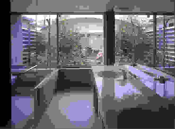千里山のコートハウス の 松田靖弘建築設計室