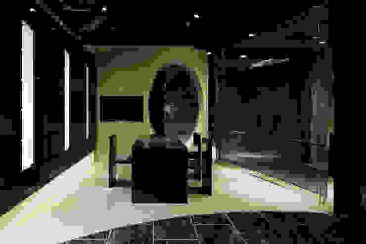 カウンター: atelier mが手掛けた現代のです。,モダン