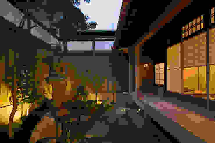 現代に息づく京都の町家 アジア風 庭 の 一級建築士事務所 (有)BOFアーキテクツ 和風