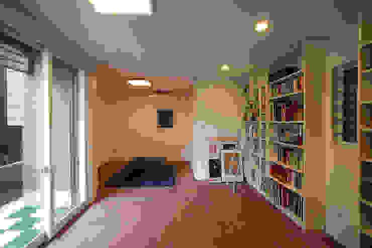 ファミリールーム 北欧デザインの 多目的室 の atelier m 北欧