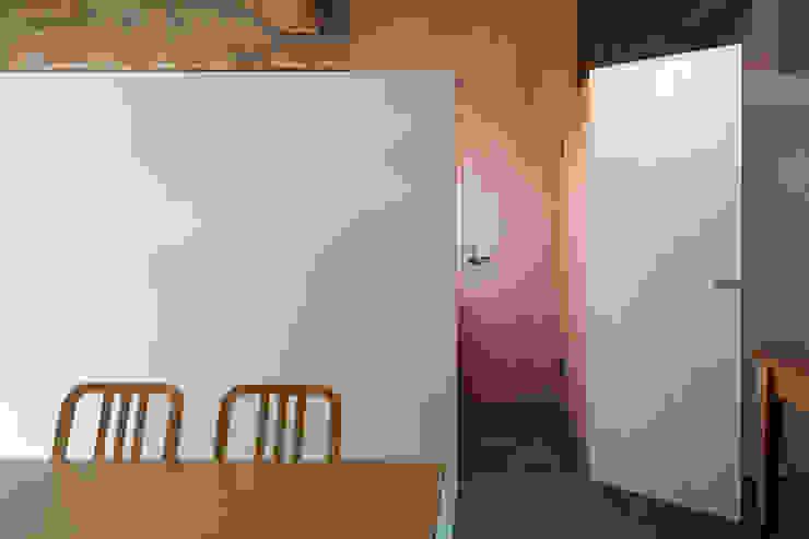 千葉の事務所 コンバージョン オリジナルデザインの 書斎 の Smart Running一級建築士事務所 オリジナル