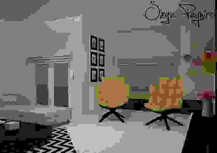 Livings de estilo  por Deniz Gökçe Mimarlık ve İnşaat