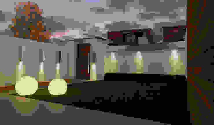 Jardines de estilo minimalista de diparmaespositoarchitetti Minimalista
