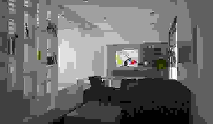 diparmaespositoarchitetti Minimalist living room