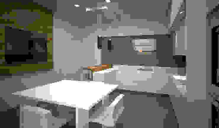 diparmaespositoarchitetti Minimalist kitchen
