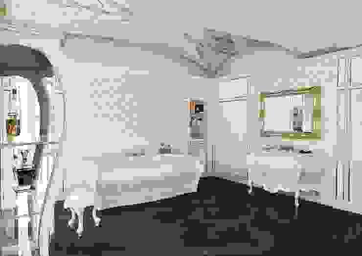Aranżacja łazienki w stylu lat '700 Klasyczna łazienka od Bianchini & Capponi Klasyczny