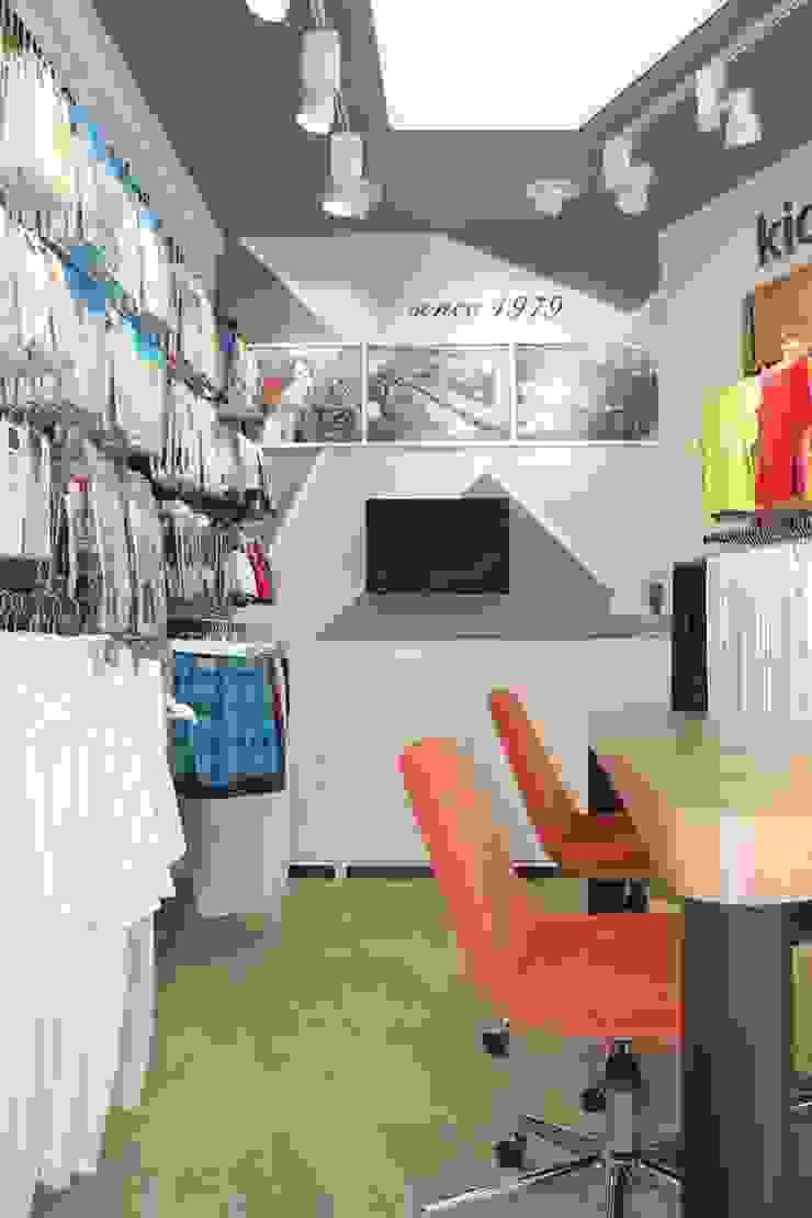 Güneş Tekstil – Showroom SEFA ÇAPRAZ MİMARLIK İNŞAAT Modern