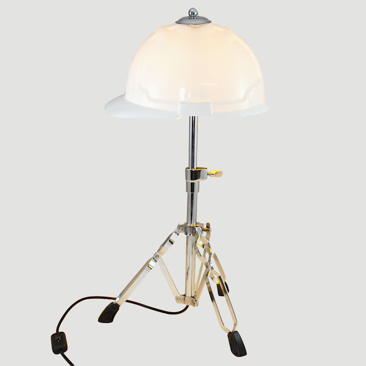 'GET AHEAD GET A HAT' TABLE LAMP/DESK LIGHT Eclectic style study/office by it's a light Eclectic
