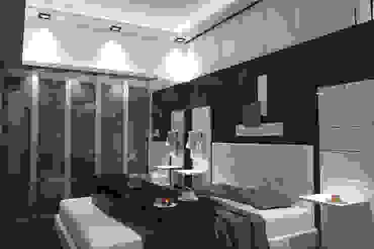 Minimalistische Schlafzimmer von diparmaespositoarchitetti Minimalistisch