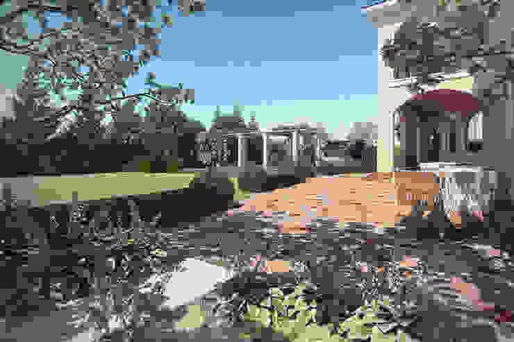 Патио Сад в средиземноморском стиле от Руслан Михайлов rmgarden Средиземноморский