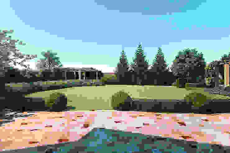 Стриженный газон Сад в средиземноморском стиле от Руслан Михайлов rmgarden Средиземноморский